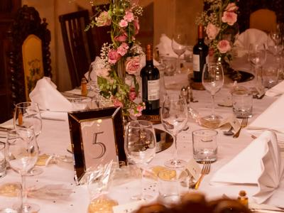 Private dining at Ravenwood Hall