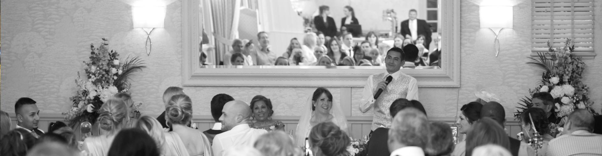 Large wedding ceremonies at Ravenwood Hall